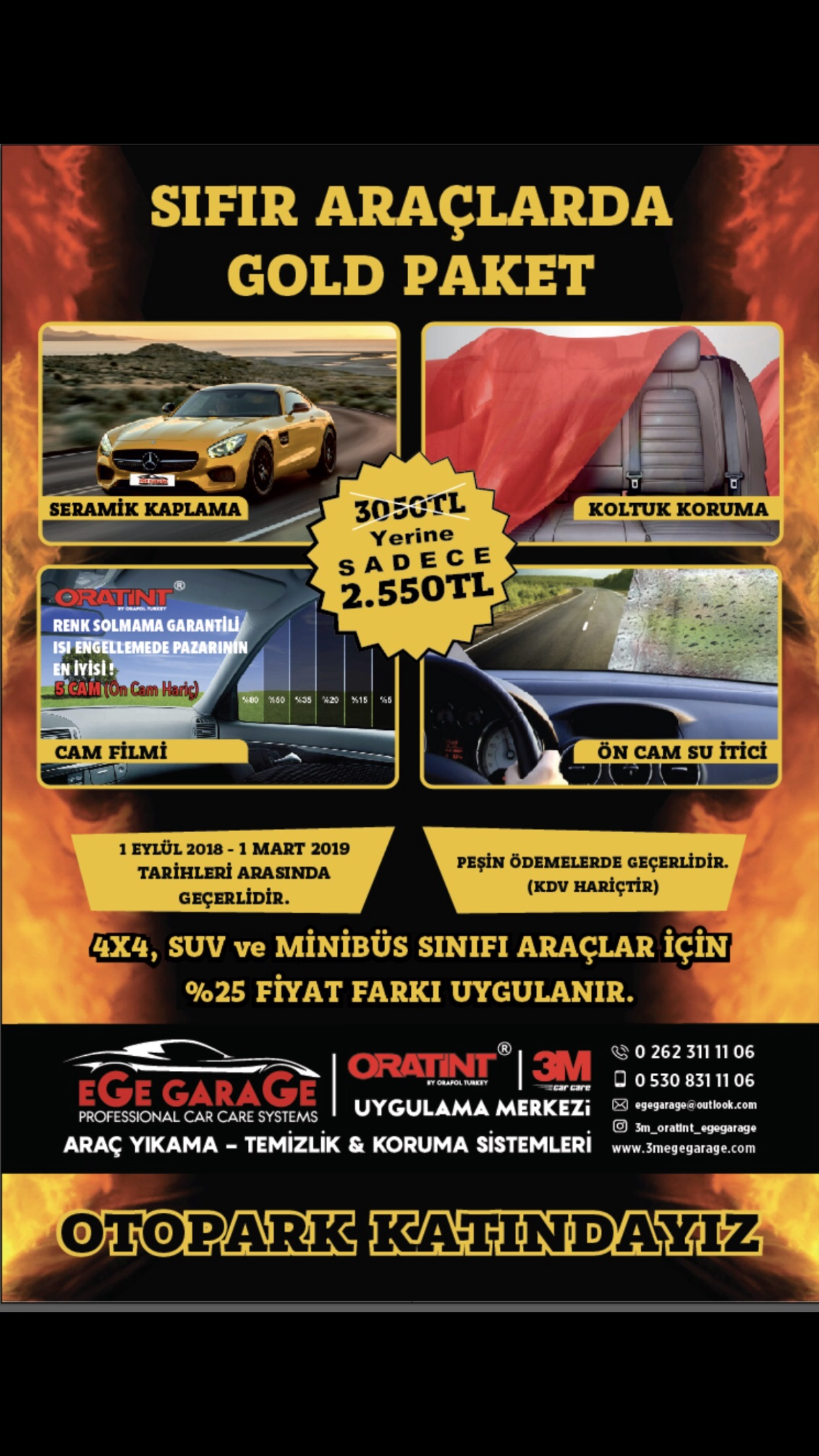 Ege Garage Gold Paket